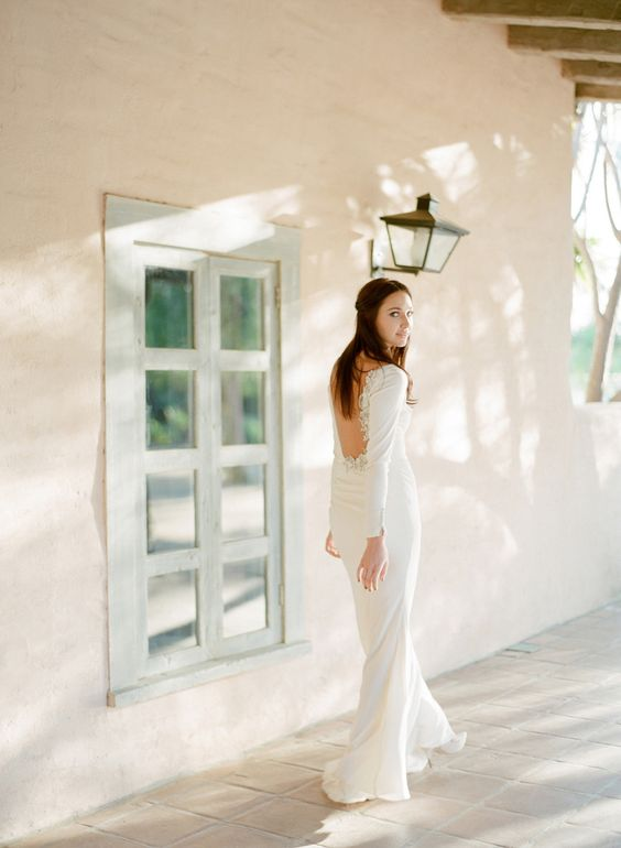 Elopement inspiration photoshoot via Style Me Pretty