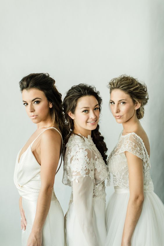 2017 Bridal Beauty Looks to Inspire / Featuring TEAM's Creative Director, Mar, on her tips and tricks for hair and makeup styling - photography by Matthew Ree