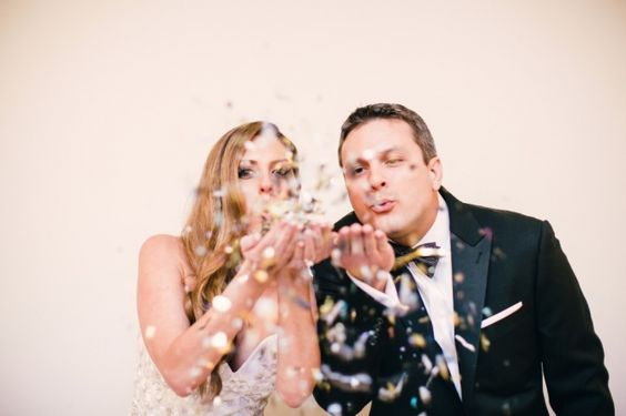 New Year's Eve Wedding feature on Carats and Cake