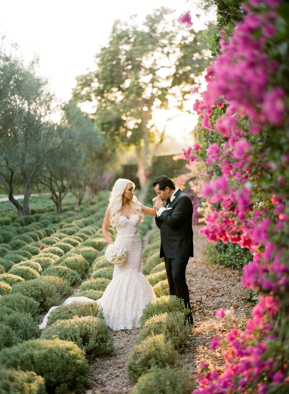 Enchanting San Ysidro Ranch wedding feature on Style Me Pretty