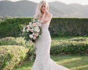 glamorous and romantic california wedding