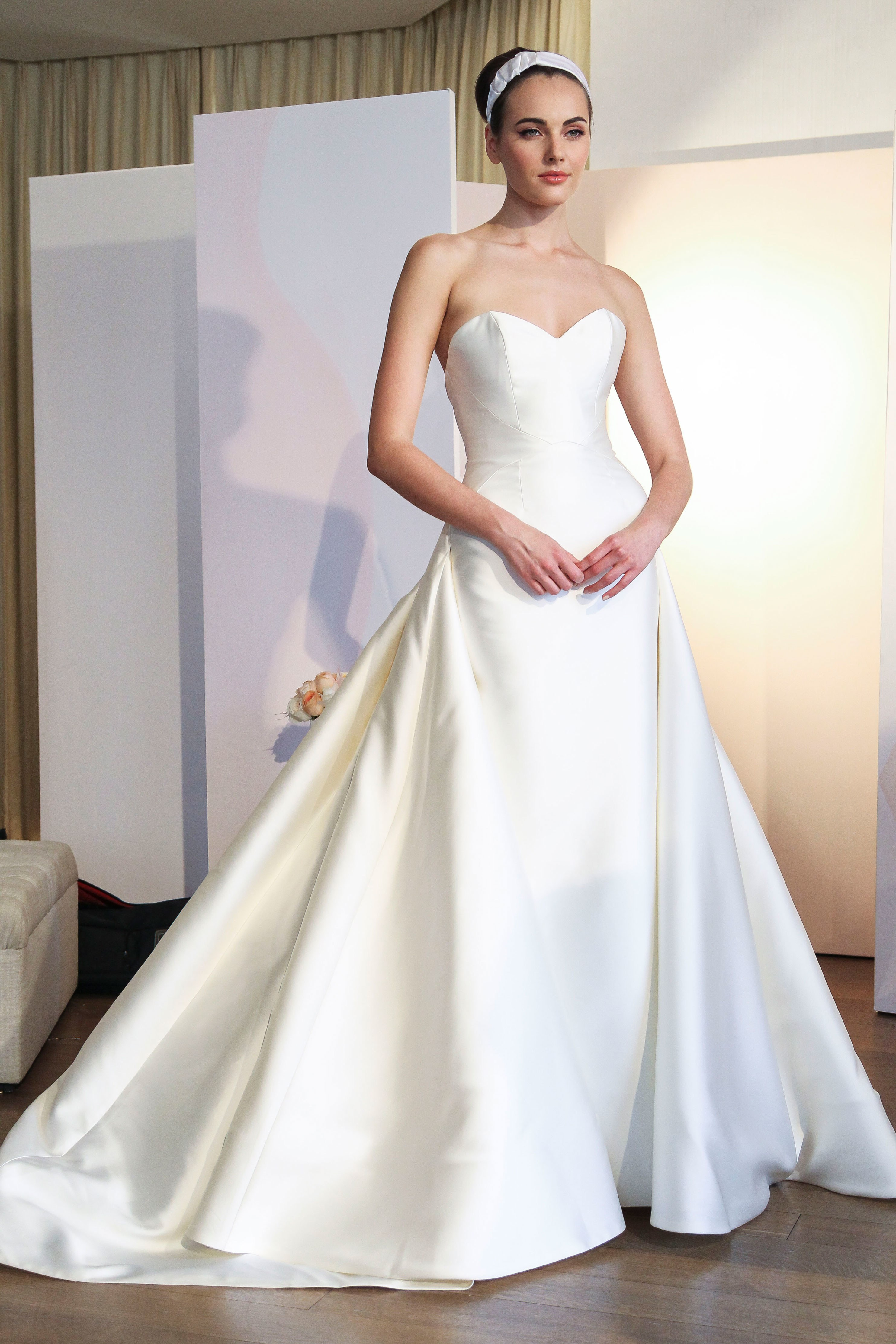 Anne Barge - New York Bridal Fashion Week