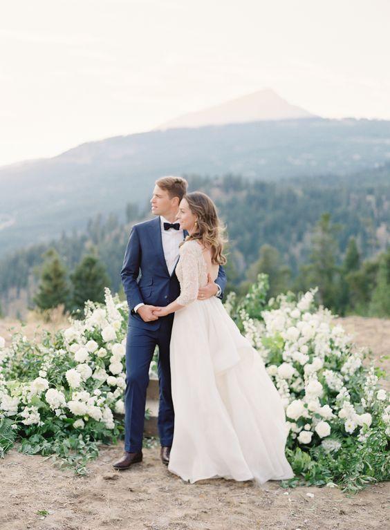 Exquisite Love Wedding In Sky Montana