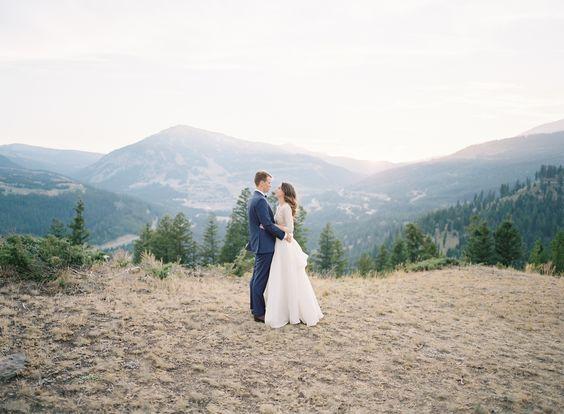 Montana Exquisite Love Wedding In Sky