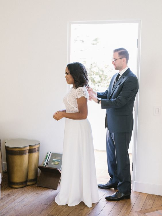 A Sweet and Romantic Modern Elopement
