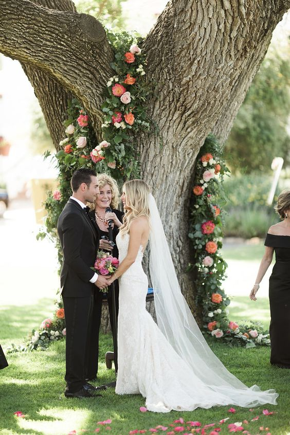 Gorgeous Ojai, California wedding - Hair and makeup by TEAM Hair & Makeup | Photographed by Brandon Kidd