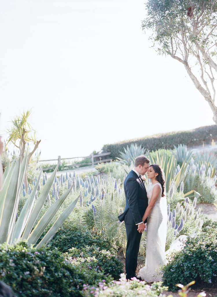 Bacara Resort wedding with a blush and peach color palette / photographed by Michelle Beller + beauty by TEAM Hair & Makeup