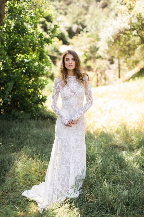 Claire Pettibone's California Dreamin' Bridal Collection
