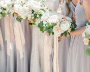 elegant springtime wedding