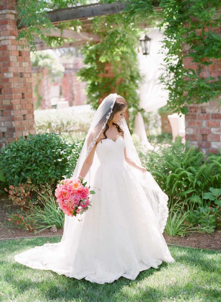 Floral infused California wedding