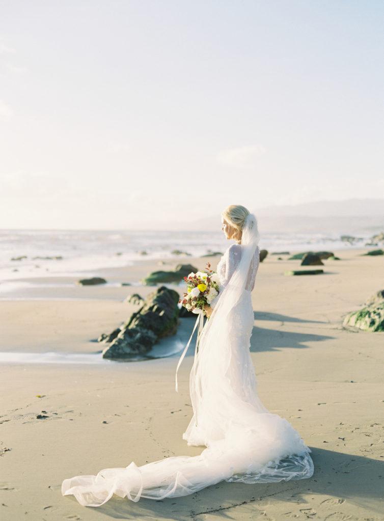 artistic california coast ranch wedding