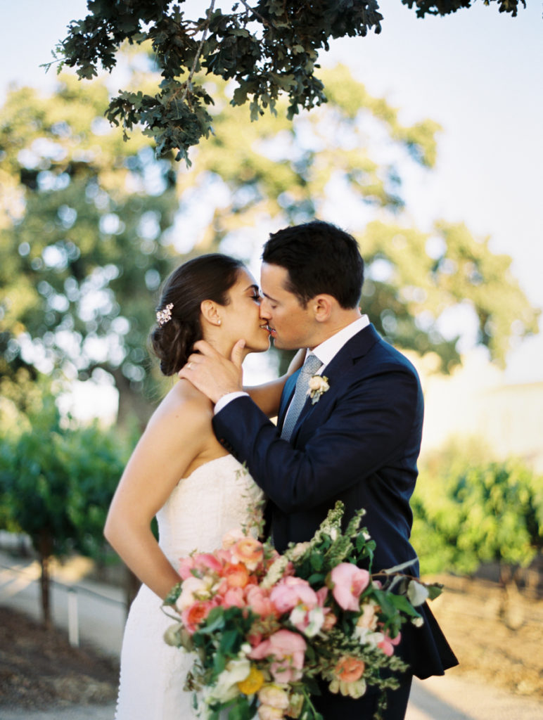 Romantic Sunstone Winery Wedding- TEAM Hair and Makeup / Photography by Brumley and Wells