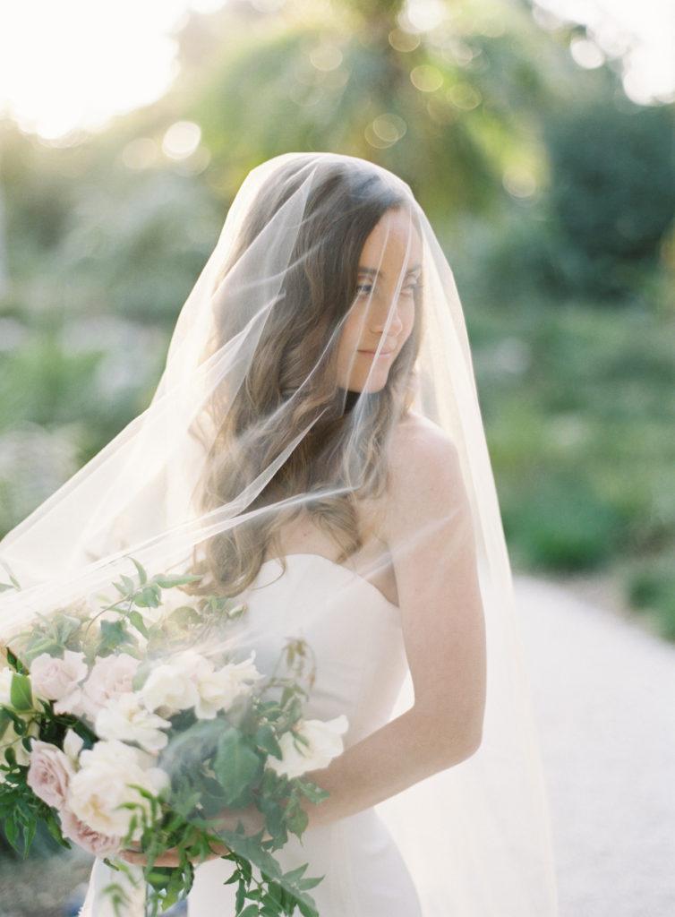 Romantic hidden gem garden wedding