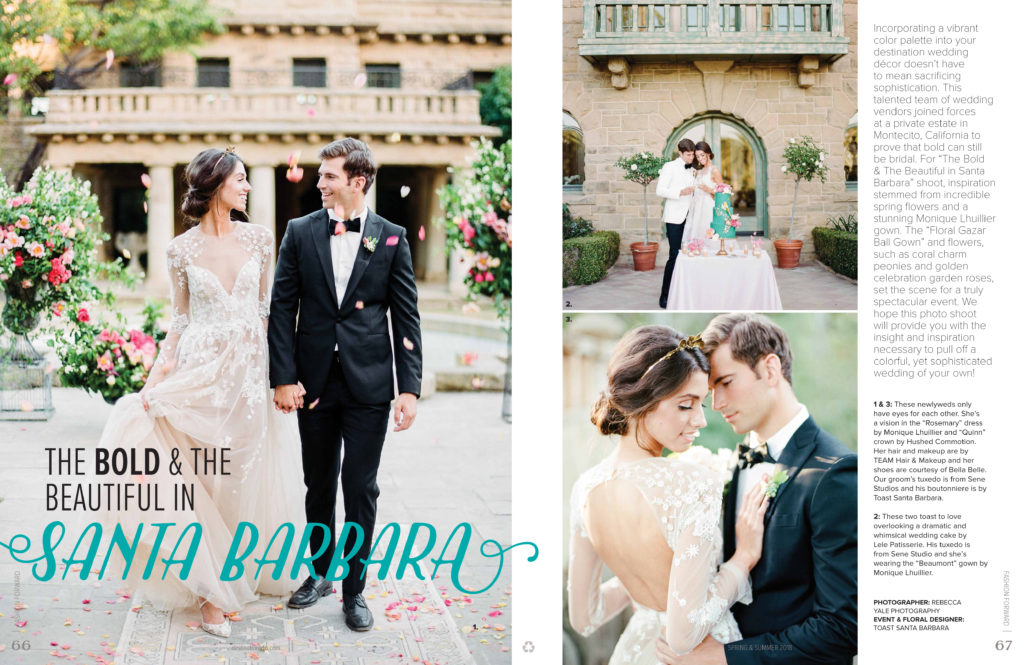 Destination I Do Spring/Summer 2018 Wedding Inspiration