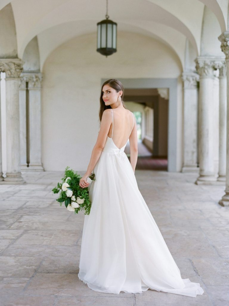 California wedding hair and makeup, featured on Once Wed