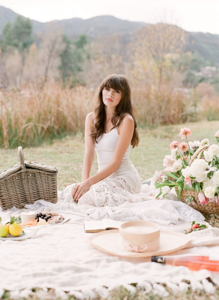 Springtime floral wedding inspiration in Flutter Magazine | TEAM Hair and Makeup