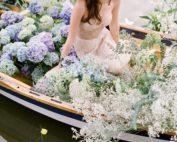 Springtime floral wedding inspiration in Flutter Magazine | TEAM Hair and Makeup