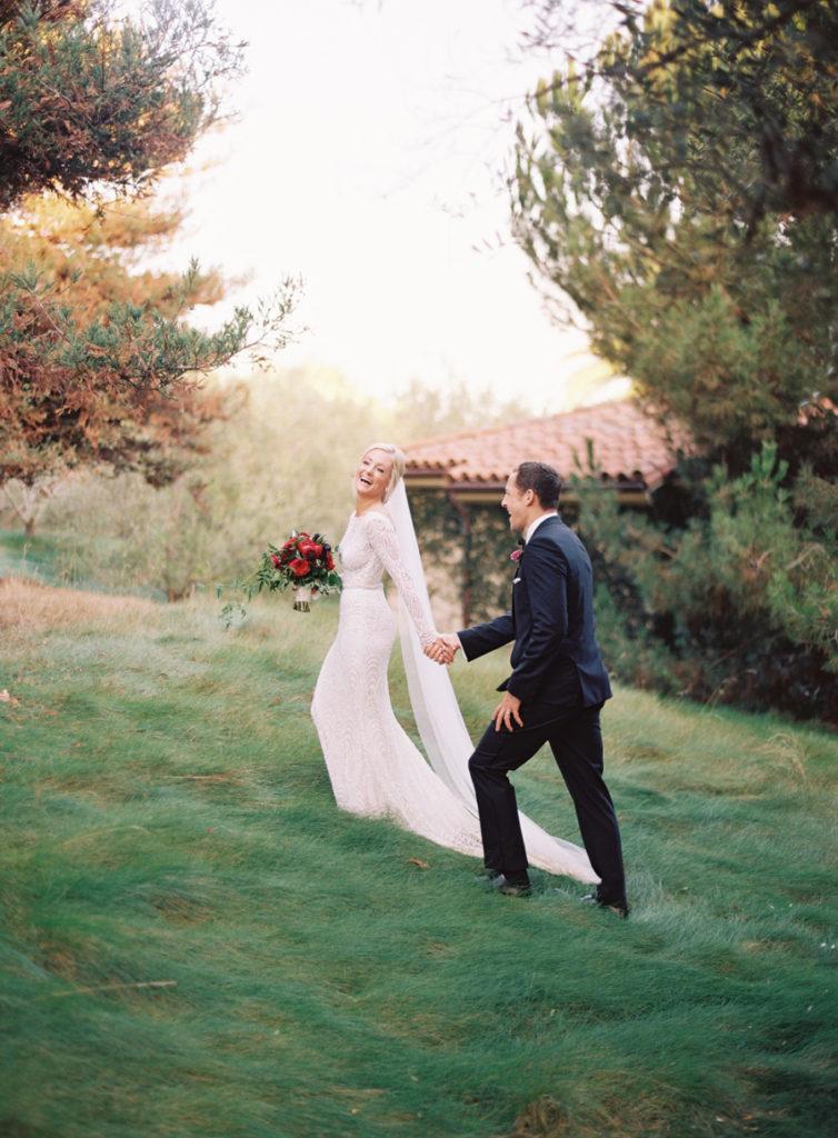 bold colors garden wedding- bridal hair and makeup artists : TEAM Hair and Makeup