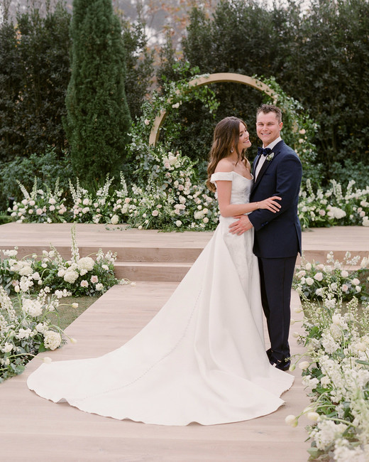 One Couple's Beautiful Winter Wedding in Santa Barbara - Featured in Martha Weddings - TEAM Hair and Makeup