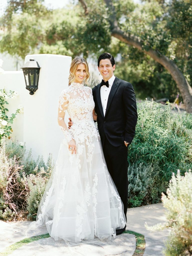 Brides Magazine- Romantic Ojai, California Wedding - TEAM Hair and Makeup