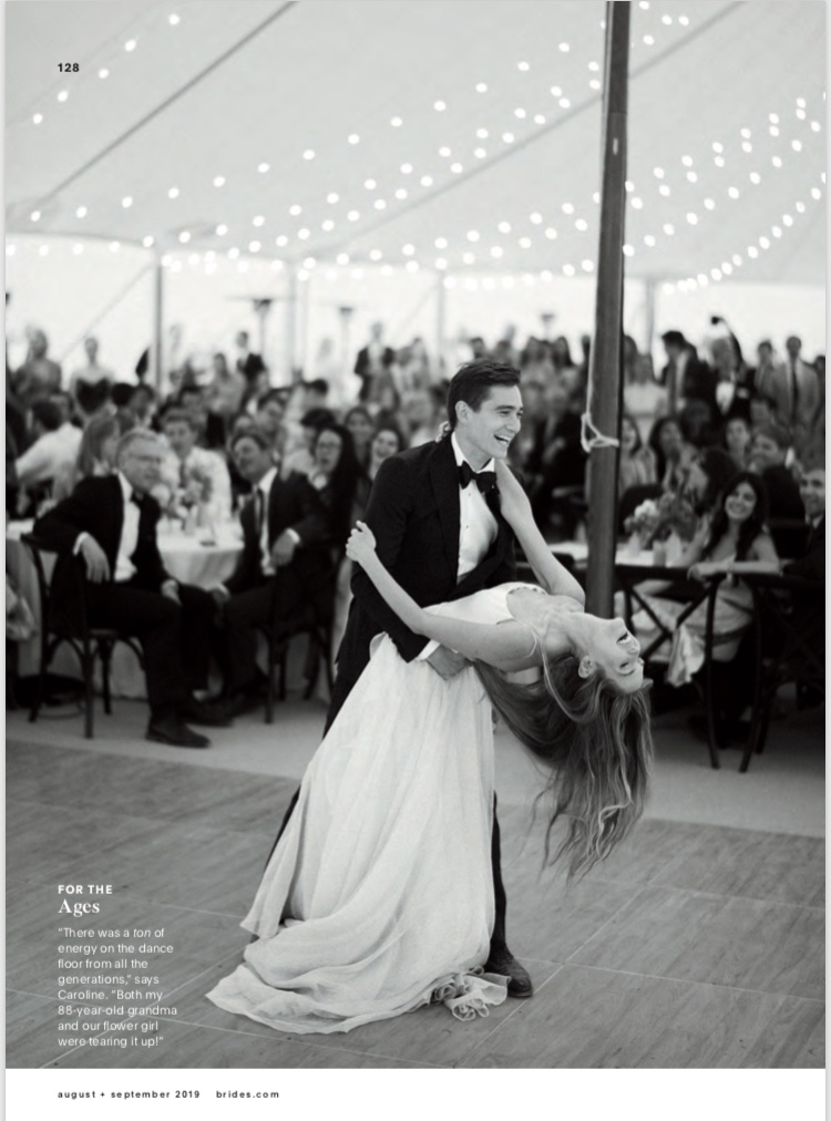 Brides Magazine Malibu wedding feature -TEAM Hair & Makeup