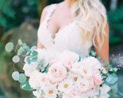 California garden and beach wedding - TEAM Hair and Makeup