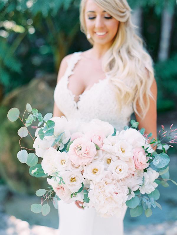 California garden and beach wedding - TEAM Hair and Makeup