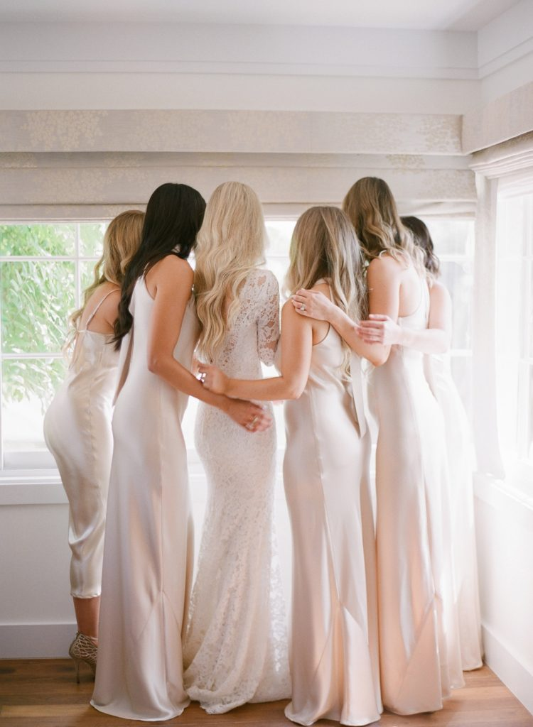 garden chic wedding bridal party hair | TEAM Hair & Makeup