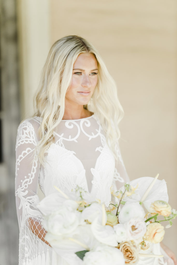 Cool bride Martha Stewart Weddings feature- TEAM Hair and Makeup