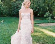 Chic California bride