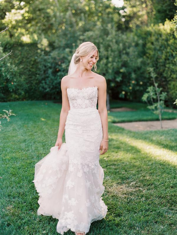 Chic California bride