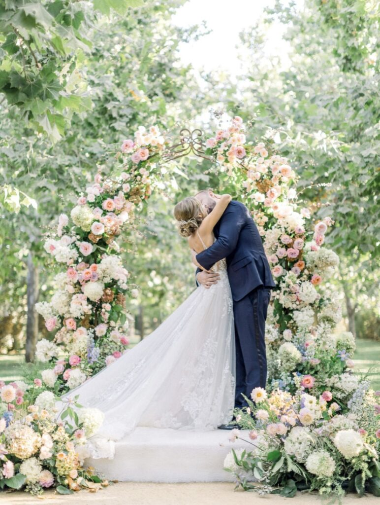 Romantic Santa Ynez Wedding Featured on The Knot